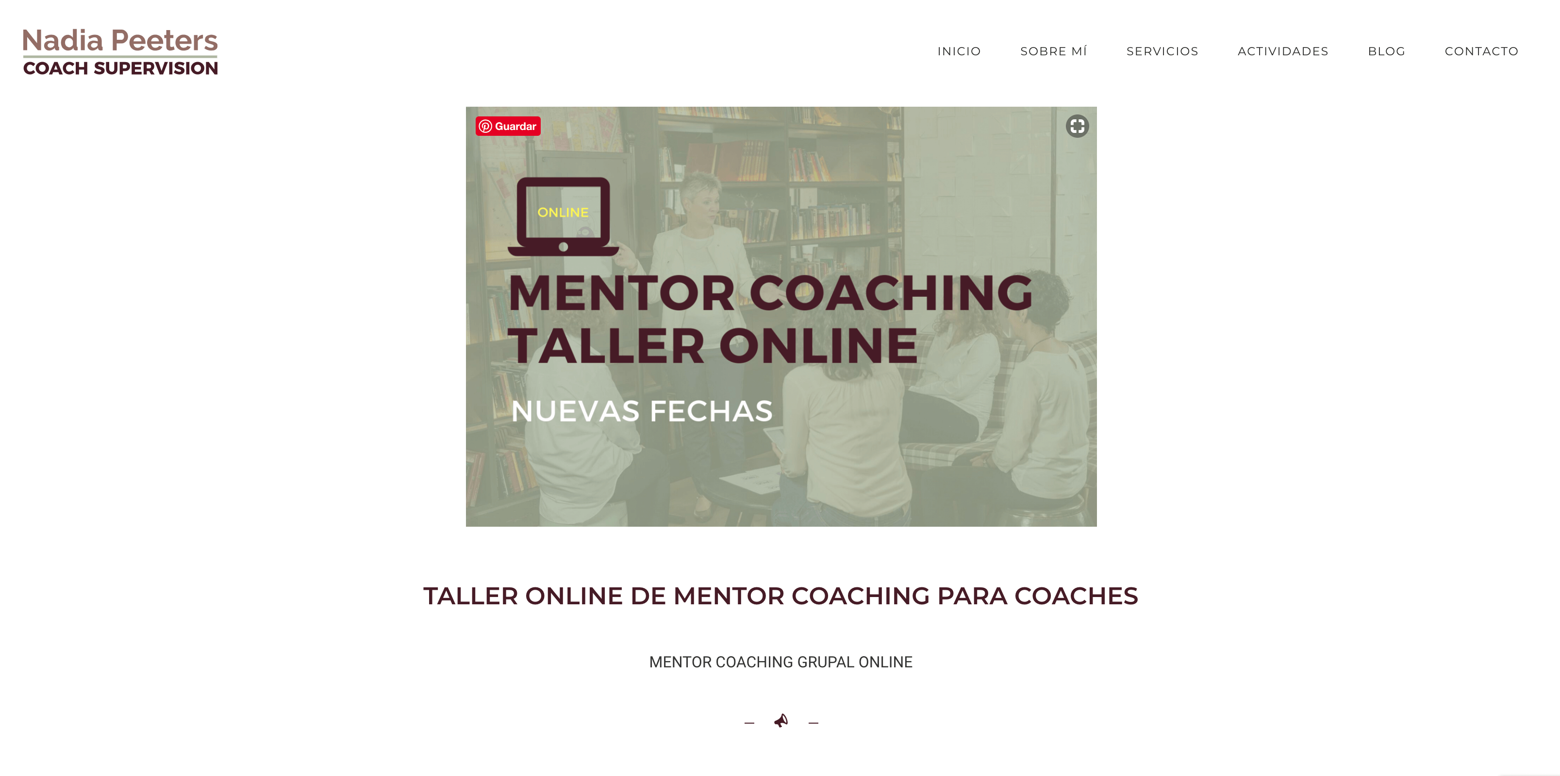 infoproducto de coaching