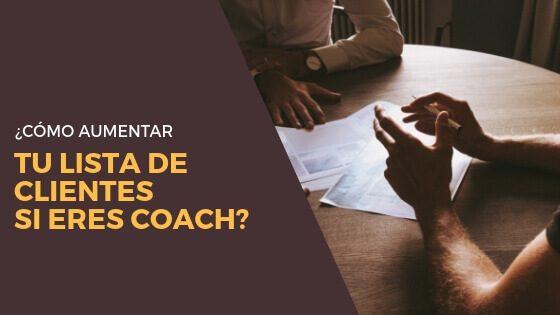 Red de contactos para aumentar tu lista de clientes si eres coach: sal ahí fuera y haz networking